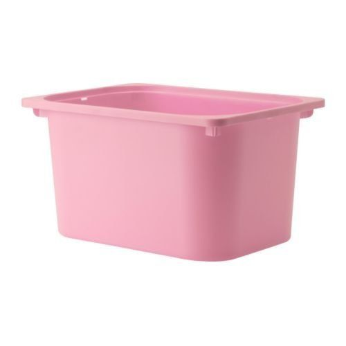 Toy Storage Ideas Ikea Trofast Box Pink Large Read More