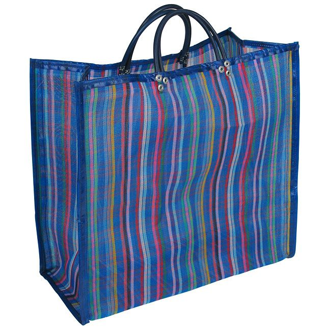 A reusable shopping bag with South of the Border flair. This large ...