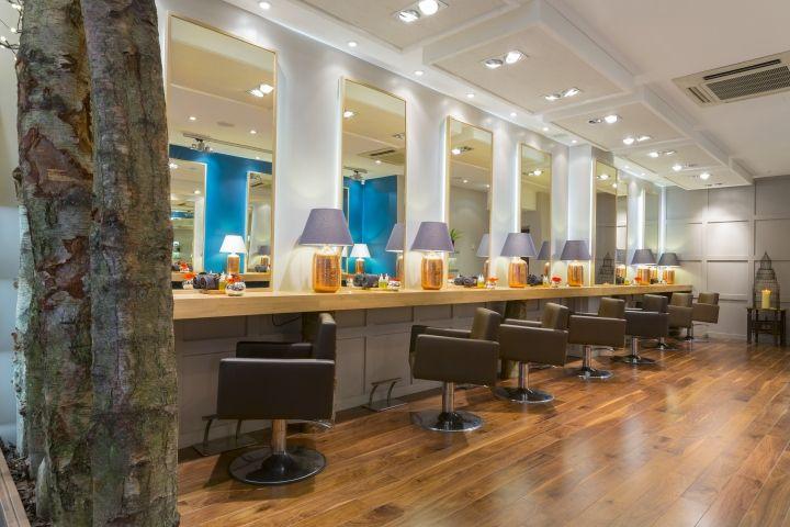 Aveda lifestyle salon spa by reis design london uk retail design blog interior hair salon - Aveda salon washington dc ...