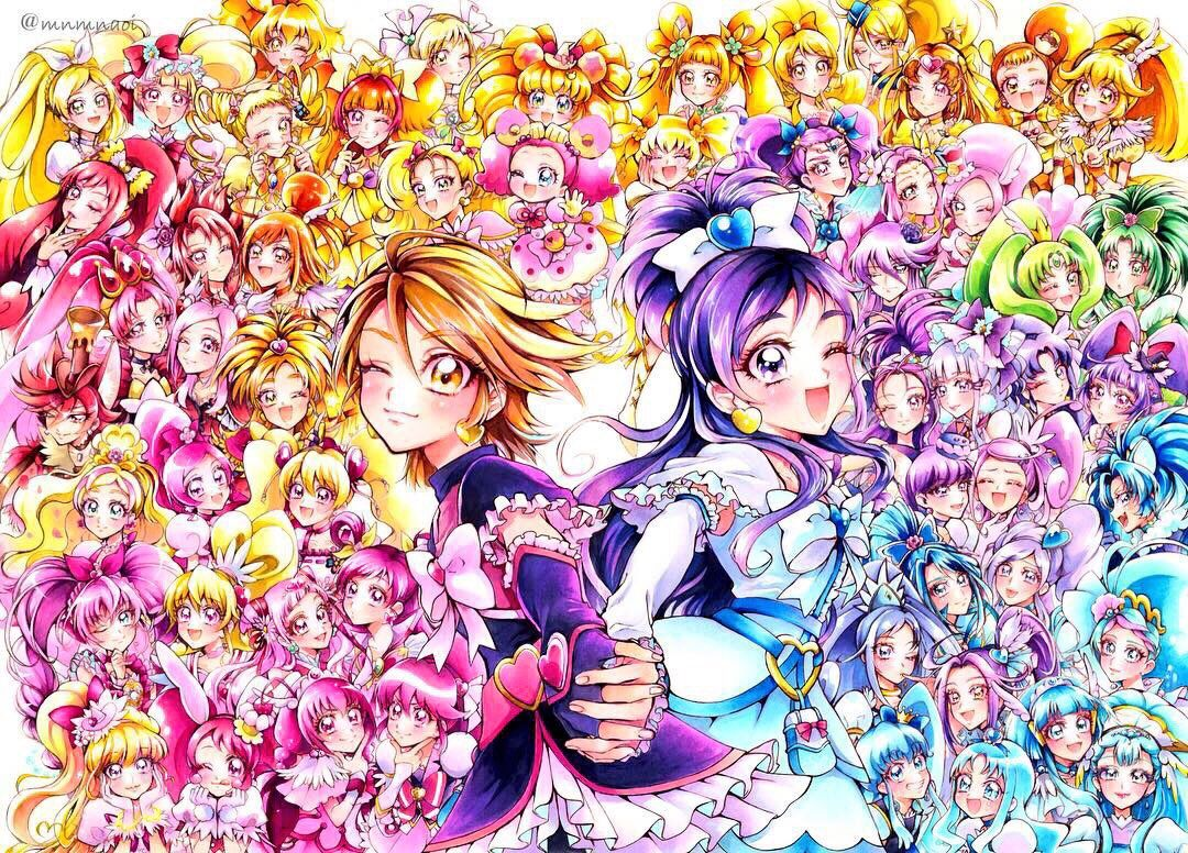 View and download this 1080x776 Precure All Stars image