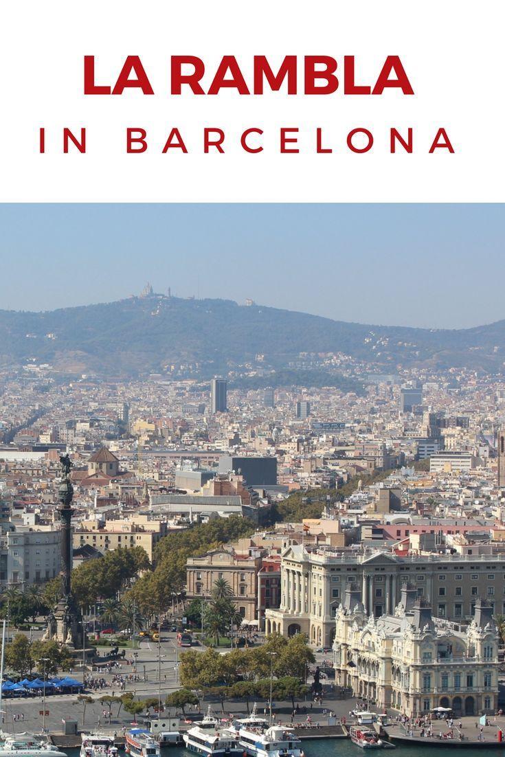 La Rambla: ♥ Die bekannteste Flaniermeile in Barcelona