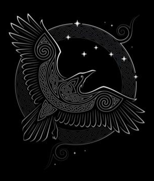 Viking Raven Symbol Meaning Ravens Indicate Odin S Presence