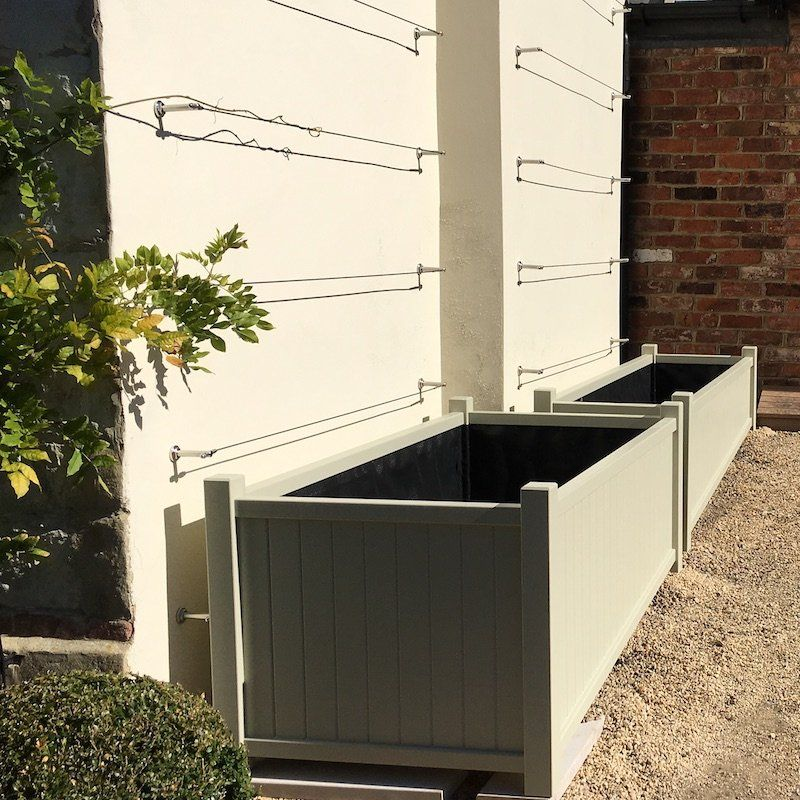 Made To Measure Extra Large Wooden Garden Trough Planters 400 x 300