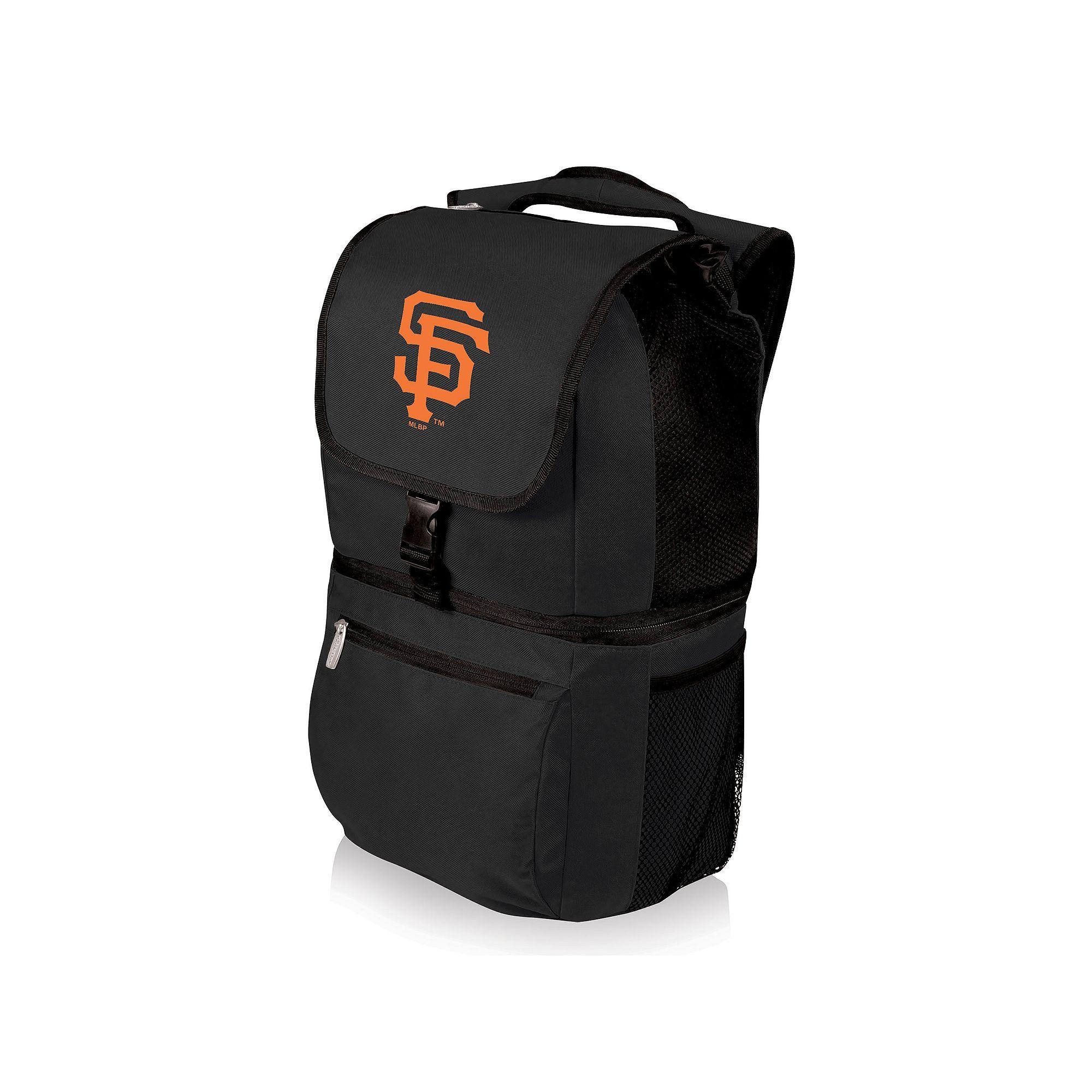 Picnic Time San Francisco Giants Zuma Backpack Cooler, Black