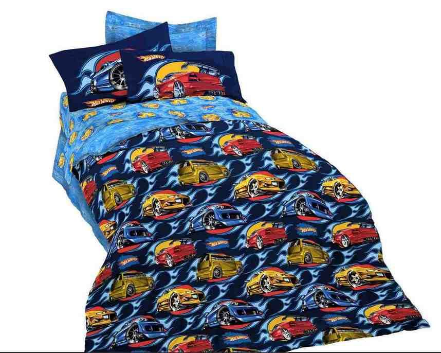 Hot Wheels Bedding Set
