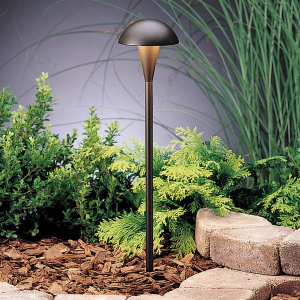 Kichler Lighting 15323 Eclipse Path Pathway Light At Atg Stores Outdoor Lighting Landscape Outdoor Path Lighting Landscape Lighting