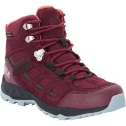Photo of Jack Wolfskin waterproof women hiking shoes Vojo Hike Extended Version Texapore Mid Women 37 red