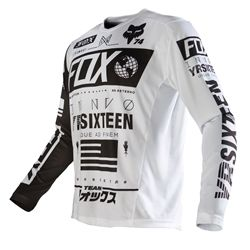 Fox Racing 2016 Nomad Jersey White available at Motocross Giant eec3efe8fdf