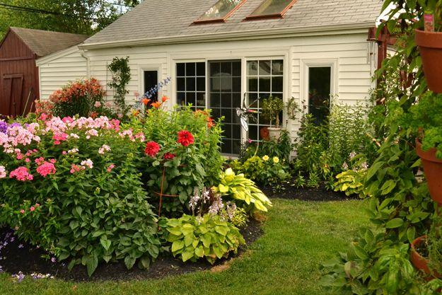 Phlox And Oriental Lilies Add Fragrance