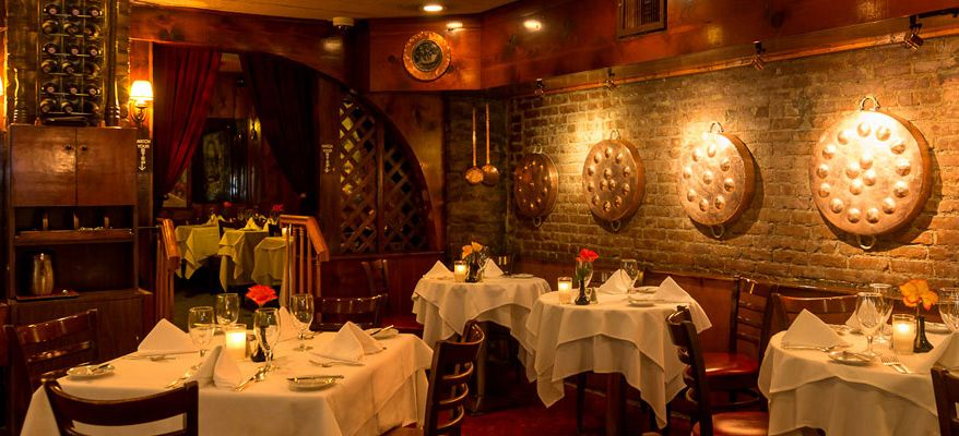 Le Rivage Restaurant French Restaurants Nyc New York City