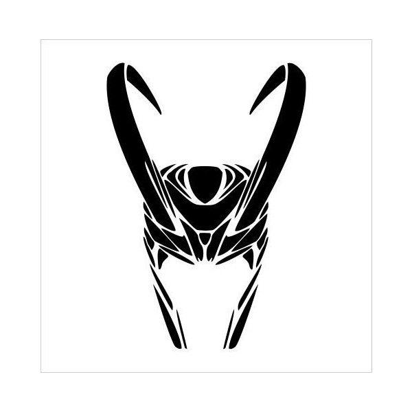 Amazon com the avengers loki helmet vinyl die cut decal sticker 6