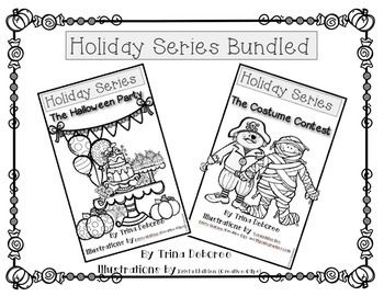 Bundled Halloween Readers! These Halloween readers are a
