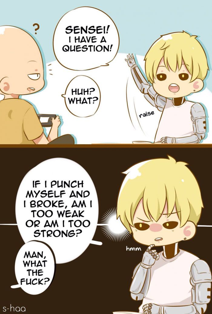 Genos Asking The Right Question