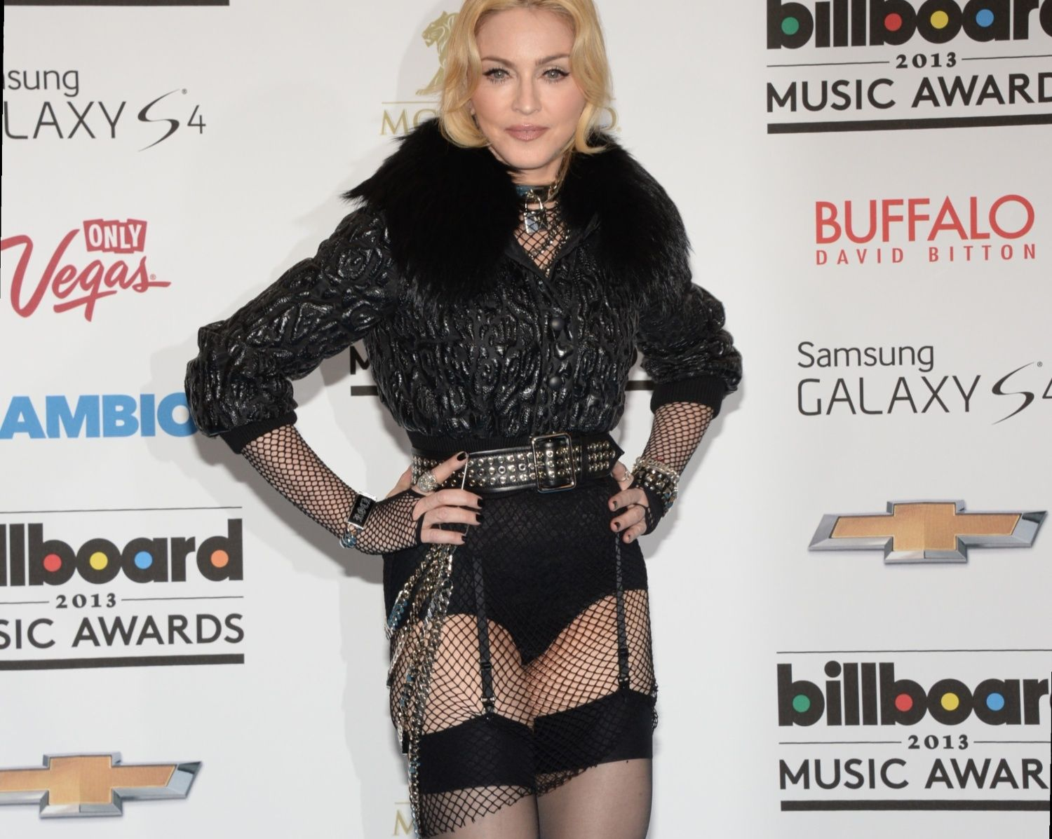 #Madonna at #2013 #BillboardMusicAwards #MDNATour