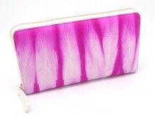 Tie Dye Wallet Hot Pink