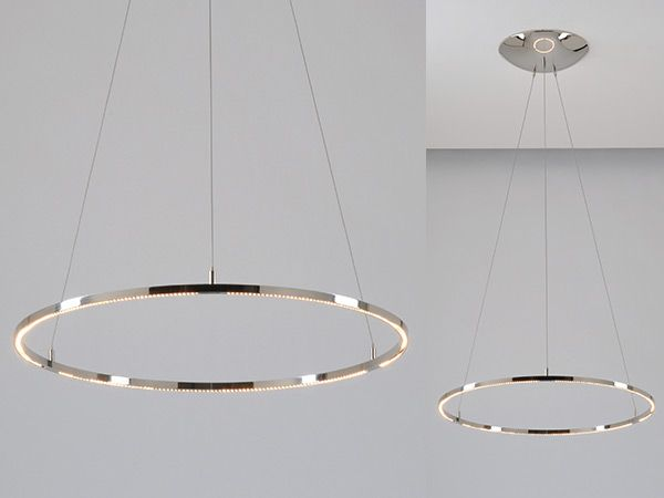 Innovative Circular Pendant Light Large Round Pendant Led Light