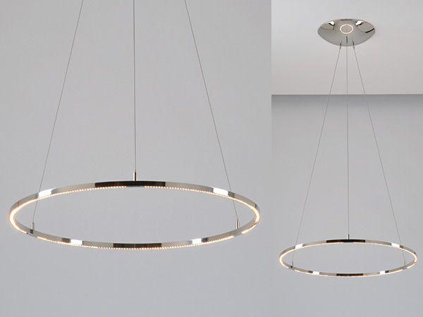 Innovative Circular Pendant Light Large Round Pendant Led ...