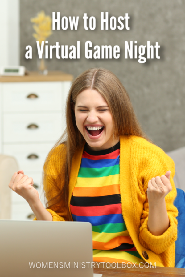 How to Host a Virtual Game Night Women's Ministry