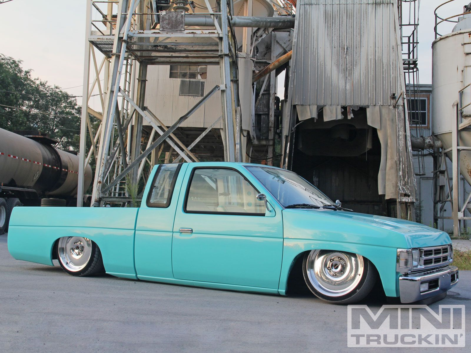 Bagged 92 nissan d21 centerline smoothie wheels 4 wheels pinterest nissan and wheels