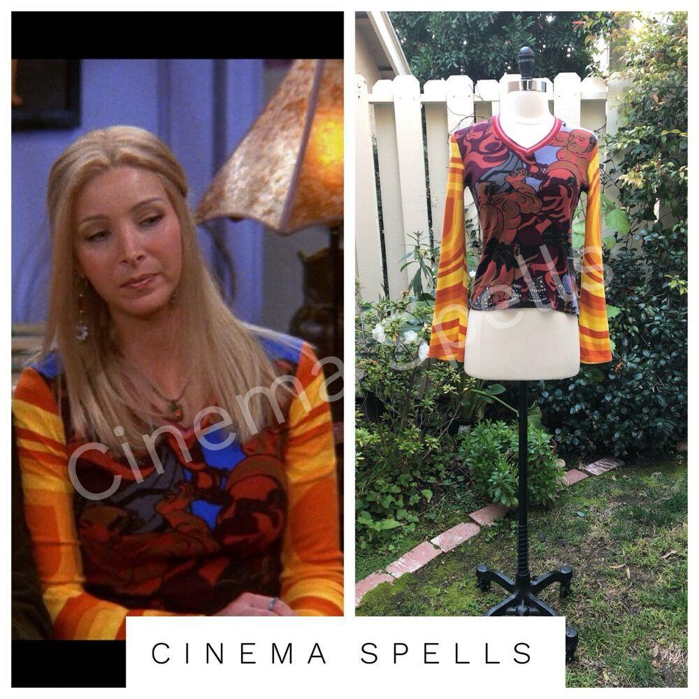Vintage 90s long sleeve top as seen on Phoebe Buffay (Lisa