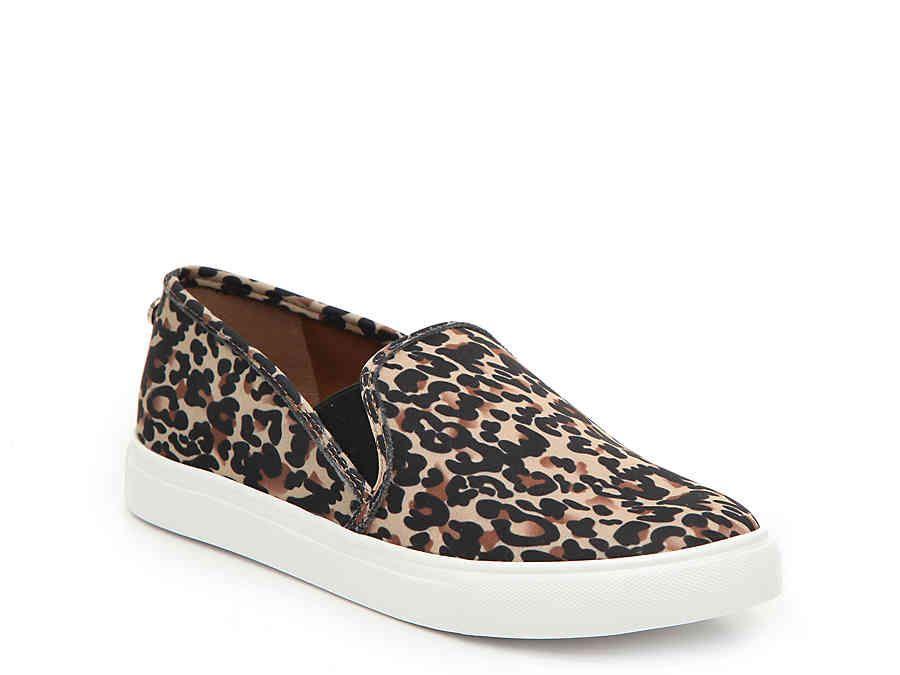 a6719da2626 Women Symba Slip-On Sneaker -Black/Brown Leopard Print Fabric in ...