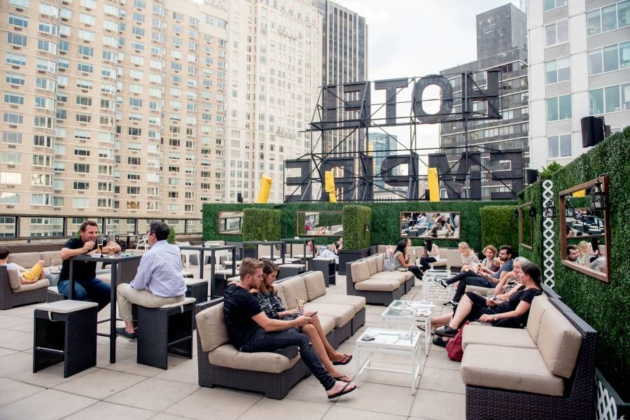 The Most Scenic Rooftop Restaurants In Nyc Food Rooftop