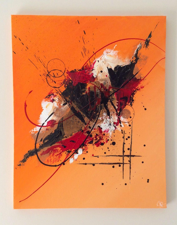 Tableau Abstrait Par Latelier De Corinne Décorations