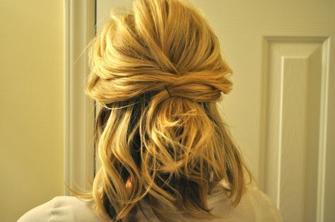 Updos For Medium Hair Half Up Half Down Half Up Wedding Hairstyles