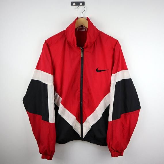 90s NIKE Windbreaker Shell Spray Colorway Multi Color Block