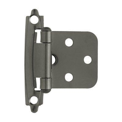 Liberty Hardware Self Closing Overlay Hinge Set Of 2 With Images Overlay Hinges Liberty Hardware Cabinet Hardware Hinges