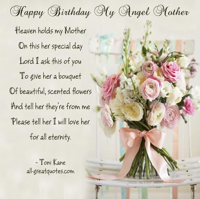 Birthday Quotes For Moms In Heaven Image Quotes Birthday Quotes For