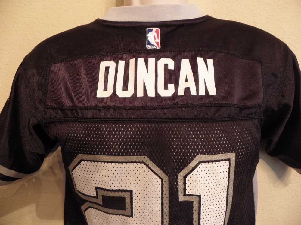 Adidas San Antonio Spurs Tim Duncan Basketball Football Jersey Boys Medium  10 12  adidas  SanAntonioSpurs e334a7dfd