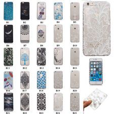 Colorful Slim Gel Rubber Silicone Soft TPU Back Case clear Cover For iPhone 5 6s
