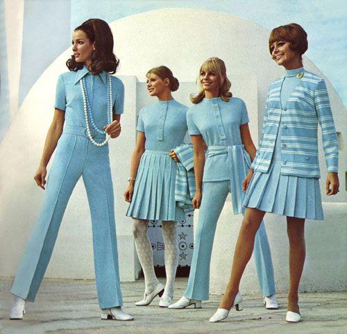 Blue 60s #dressesfromthesouthernbelleera