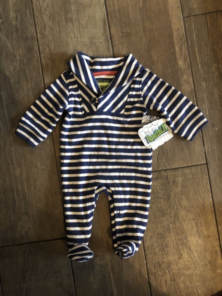 ed38f5857358 Kapital K Infant Boy One Piece Outfit Size 3-6 Months NWT  fashion ...