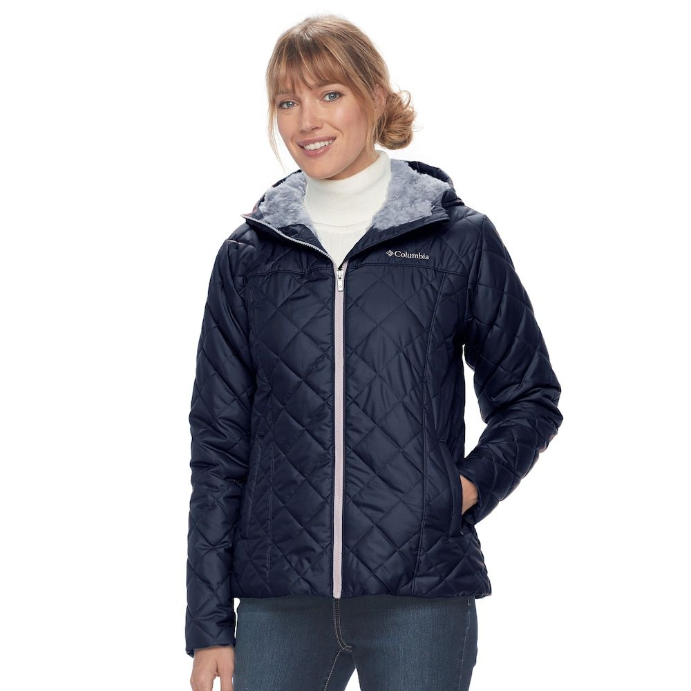 f4c7f5b74e0 Plus Size Columbia Copper Crest Hooded Quilted Jacket
