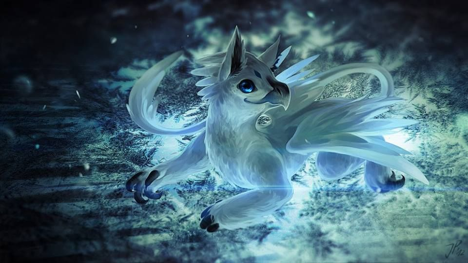 Fantasy Art: Little Gryphon