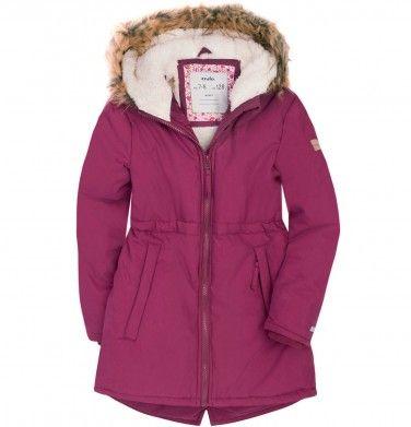 Dluga Parka Zimowa Dla Dziewczynki 3 8 Lat Zimowe Dla Mal Endo Jackets Athletic Jacket Fashion