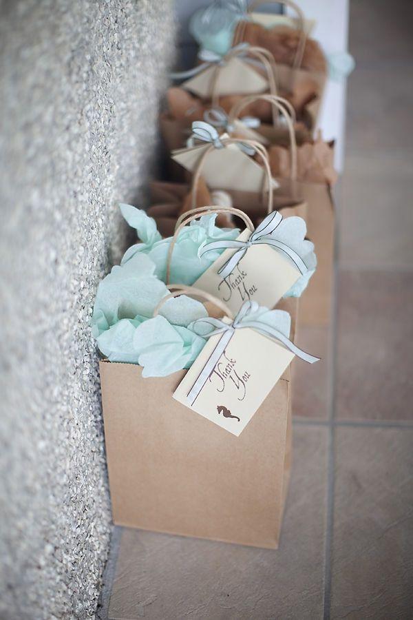 #gifts, #favor-bags, #party-favor  Photography: Rachel Barker - www.milliehollomanblog.com Event/Floral Design: Salt Harbor Design - www.saltharbor.com  Read More: http://www.stylemepretty.com/living/2010/08/25/rehearsal-dinner-by-salt-harbor-designs-millie-holloman/