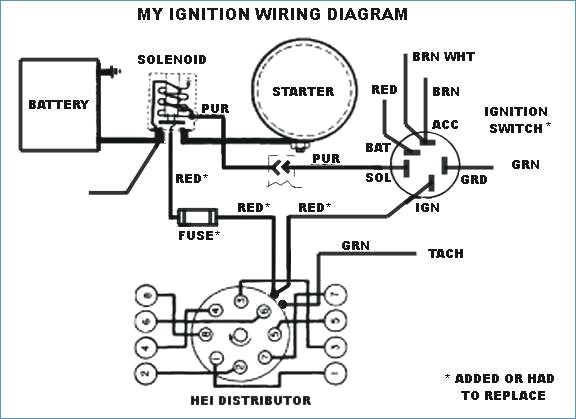 Image Result For Gm Hei Distributor Wiring Diagram