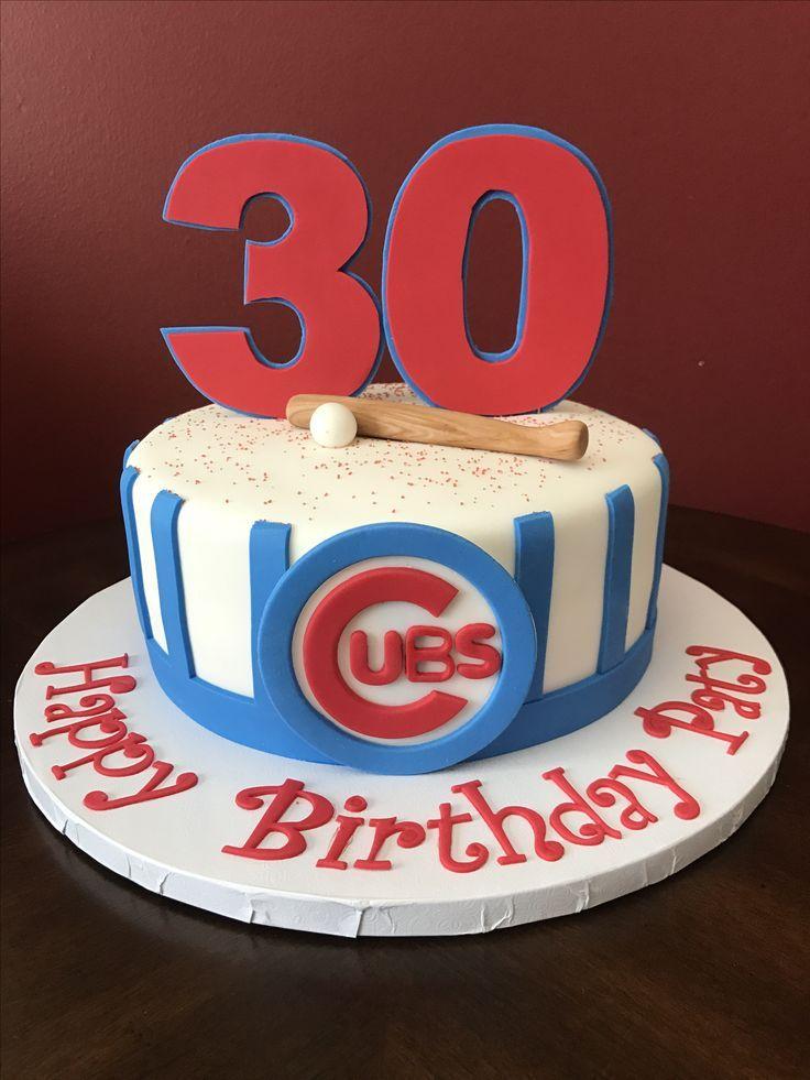Resultado De Imagen Para Chicago Cubs Birthday Cakes Chicago Cobs