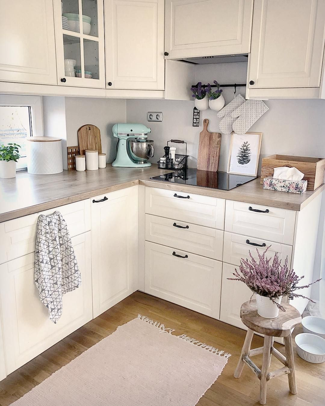 49 Small Kitchen Ideas That Will Make You Feel Roomy | Small Kitchen