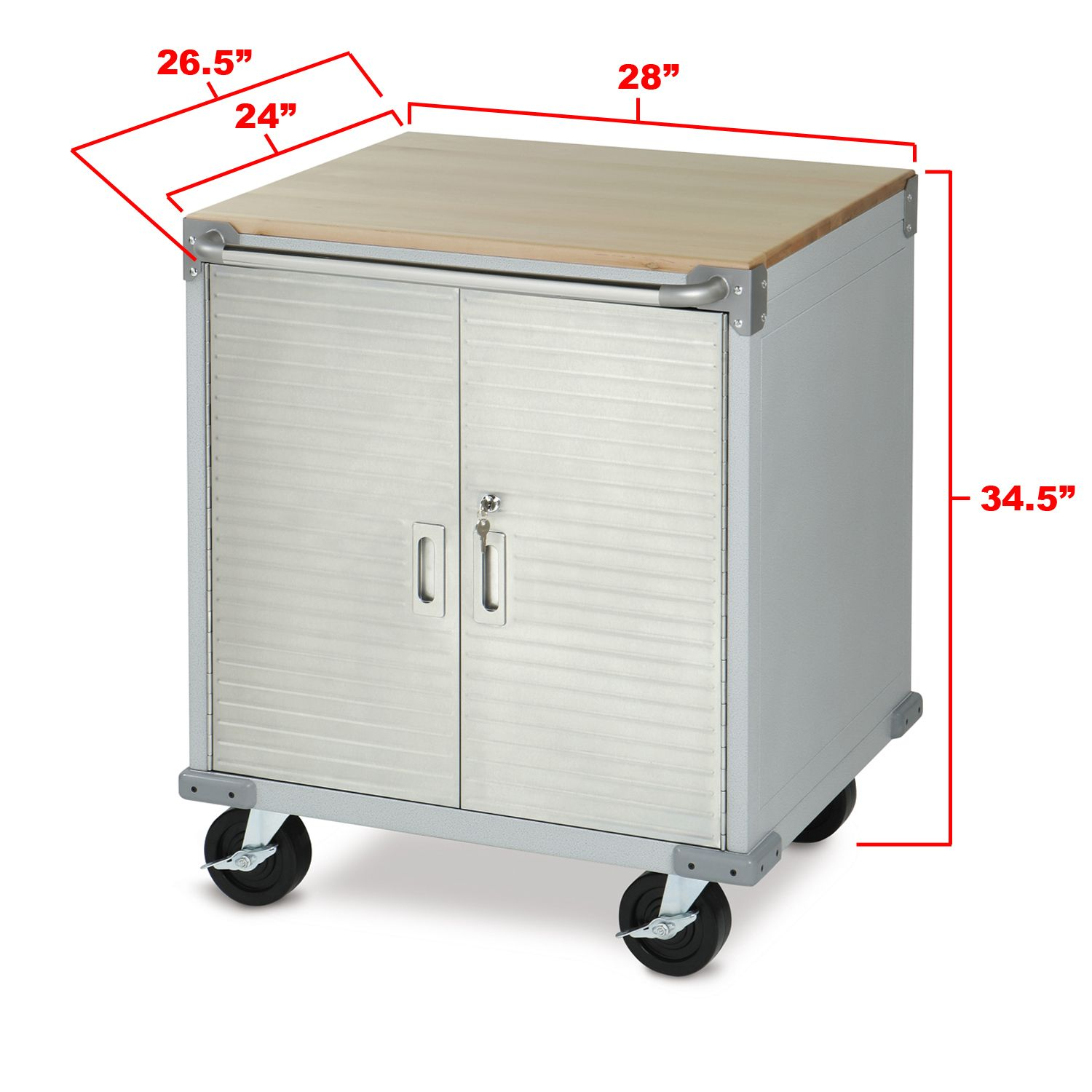 The Dimensions Of The Seville Classics Ultrahd Rolling Storage Cabinet Item Uhd20207 184 99 With Images Rolling Storage Steel Storage Cabinets Storage Cabinets