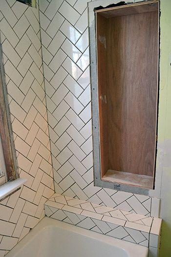 Herringbone Subway Tile Herringbone Tile Bathroom Herringbone Tile Tile Bathroom