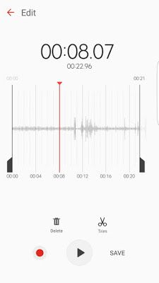 Samsung Voice Recorder Apk For Android – Mod Apk Free Download For