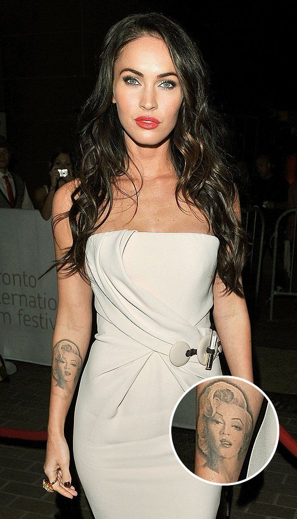 Megan Fox Is Having Her Marilyn Tattoo Removed Because She