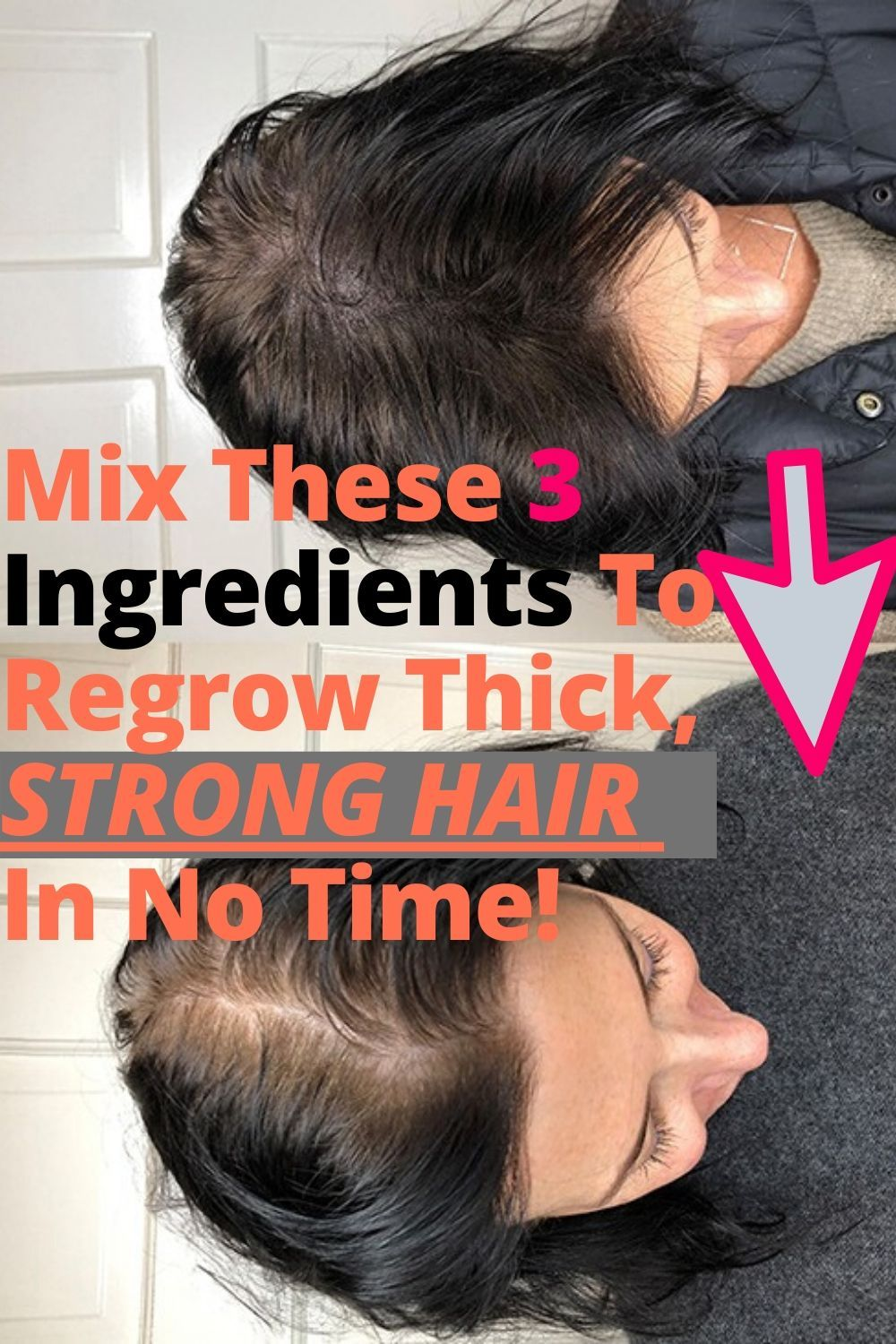 Mix These 3 Ingredients To Regrow Thick, Strong Hair In No