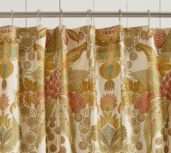 Candra Fl Shower Curtain Pottery Barn