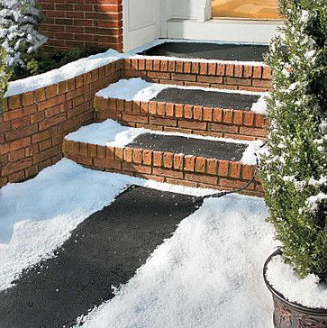 Electric Heated Stair Tread