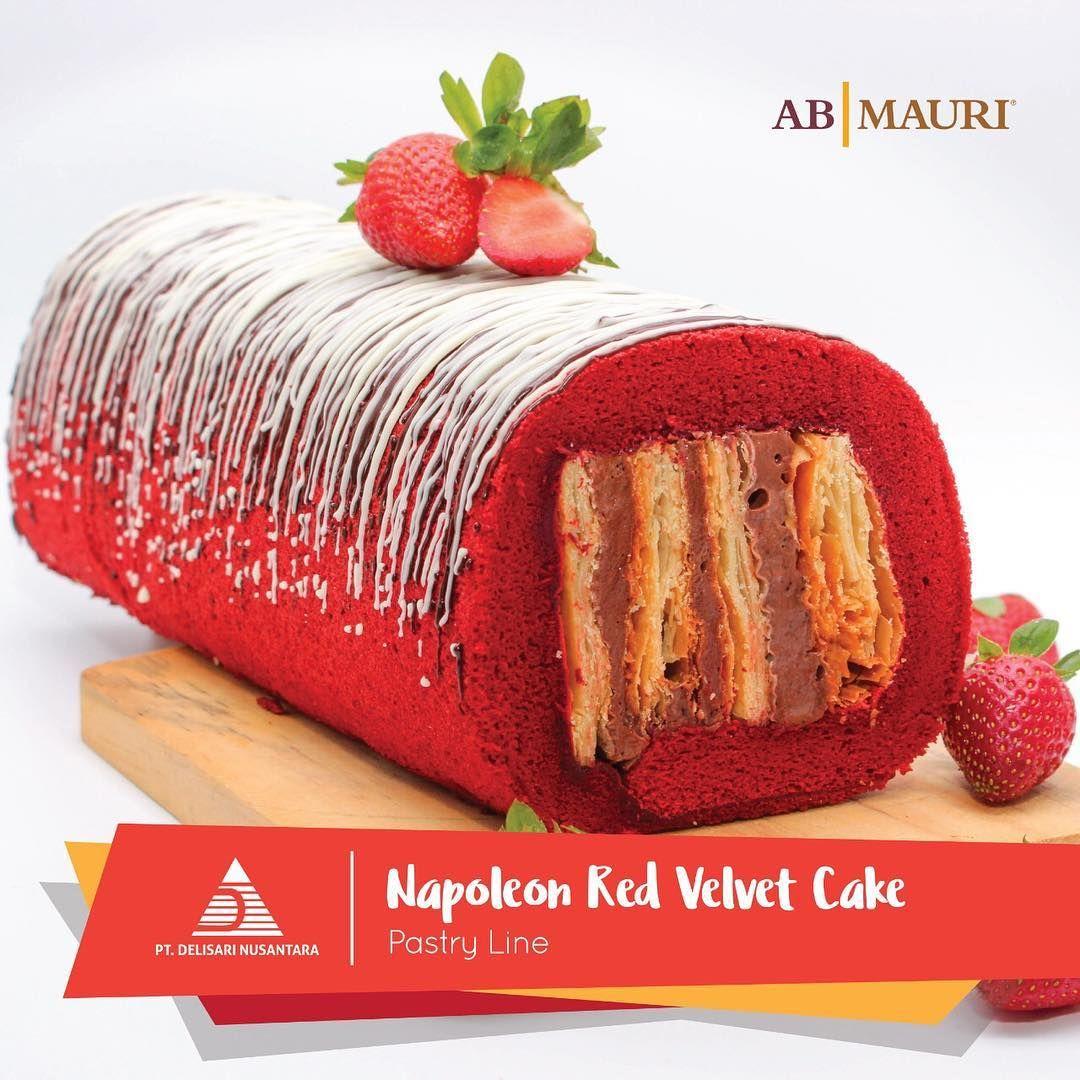 Delisari Nusantara Pt Di Instagram Red Velvet Napoleon Cake Bahan Red Velvet Mix Ingredient A 500 Gr Ab Mauri R Napoleon Cake Red Velvet Cake Velvet Cake